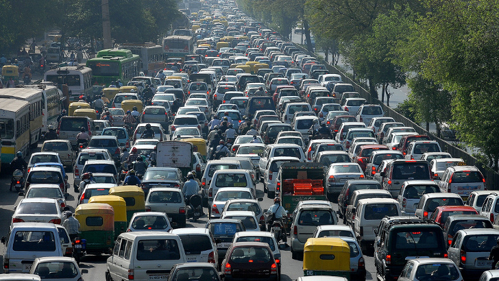 The Worst Traffic Jams in History