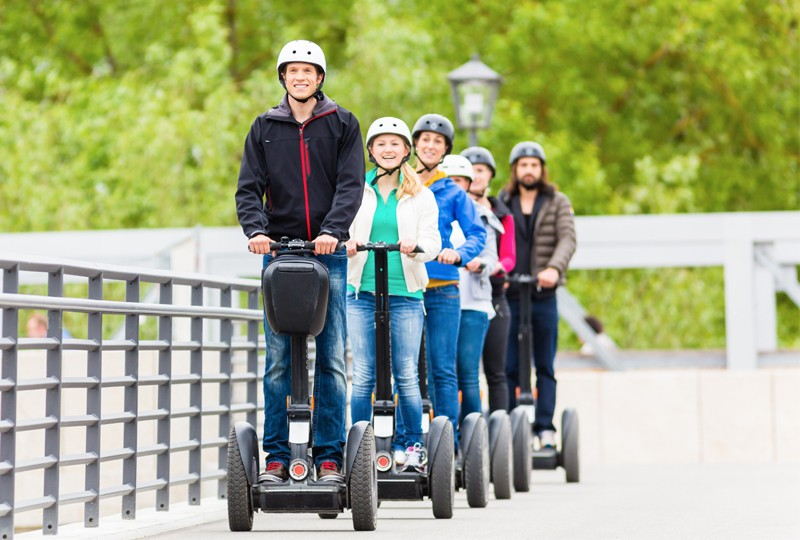 Dorset Segways, Upton Country Park