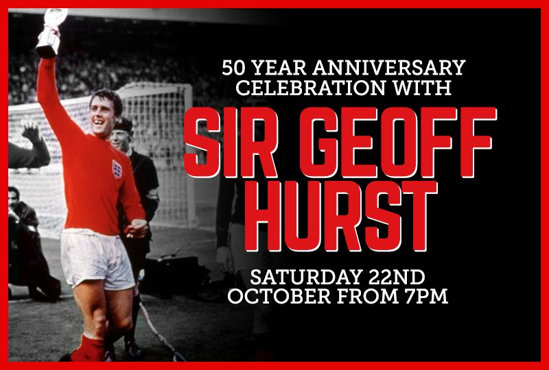 An evening with Sir Geoff Hurst at The Village Hotel