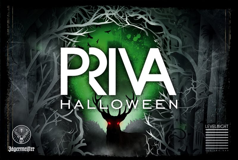 PRIVA Halloween at The Hilton Sky Bar