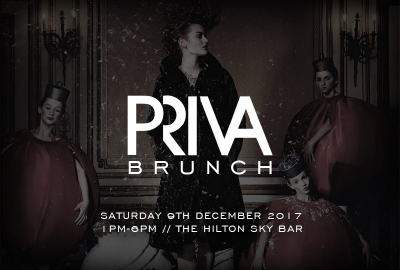 PRIVA Christmas Brunch at the Hilton Sky Bar