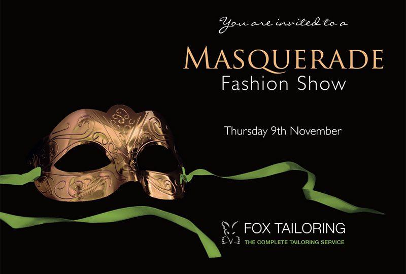 Masquerade Fashion Show
