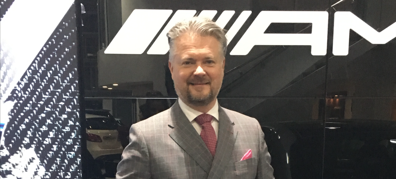 10 questions with Martin White of Mercedes-Benz of Poole