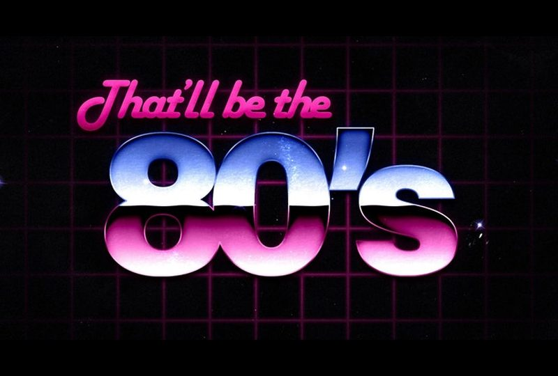 That'll be the 80's