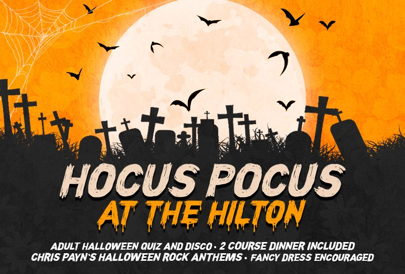 Hocus Pocus! 'A unique Halloween Experience at Hilton Hotel's Ballroom'