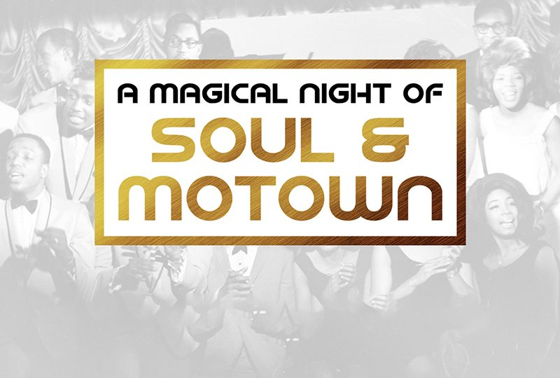 A Magical Night of Soul & Motown' starring Ritchie Penrose