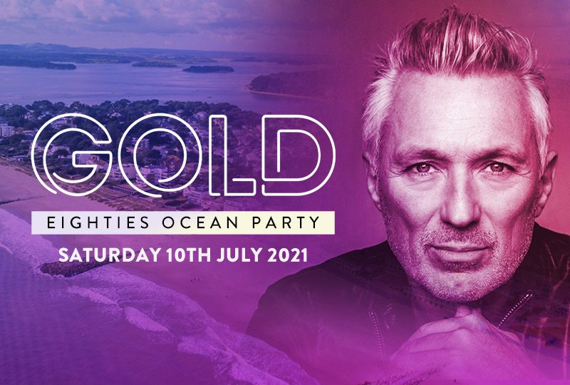 GOLD Eighties Ocean Party
