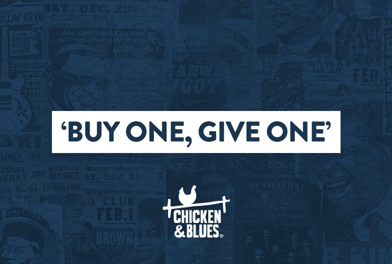 'Buy one, Give one'